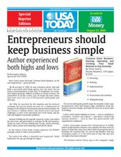Entrepreneurs Should Keep Business Simple Lesson Plan