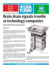 Brain Drain Signals Trouble at Technology Companies Lesson Plan