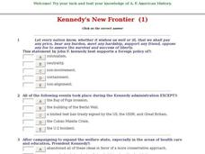 Kennedy's New Frontier  (1) Interactive