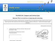Self-Test Quiz: Wild Children Part III: Comparing and Contrasting Interactive
