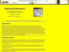 Discovering Dinosaurs Lesson Plan