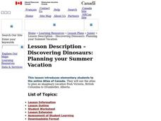 Discovering Dinosaurs: Planning your Summer Vacation Lesson Plan