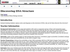 Discovering DNA Structure Lesson Plan