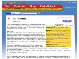 CSI Podcasts Lesson Plan