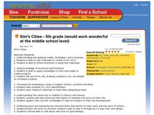 Sim's Cities Lesson Plan
