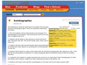 Autobiographies Lesson Plan