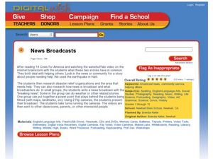 News Broadcasts Lesson Plan