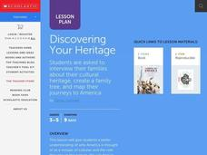 Discovering Your Heritage Lesson Plan