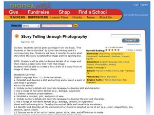 Story Telling through Photography Lesson Plan