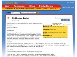 Clubhouse Design Lesson Plan
