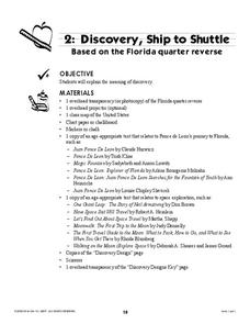 Discovery, Ship to Shuttle Lesson Plan