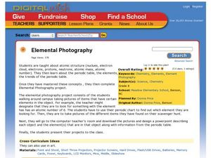 Elemental Photography Lesson Plan