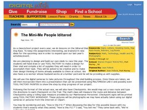 The Mini-Me People Iditarod Lesson Plan