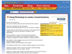 Using Photoshop to Create a Travel Brochure Lesson Plan