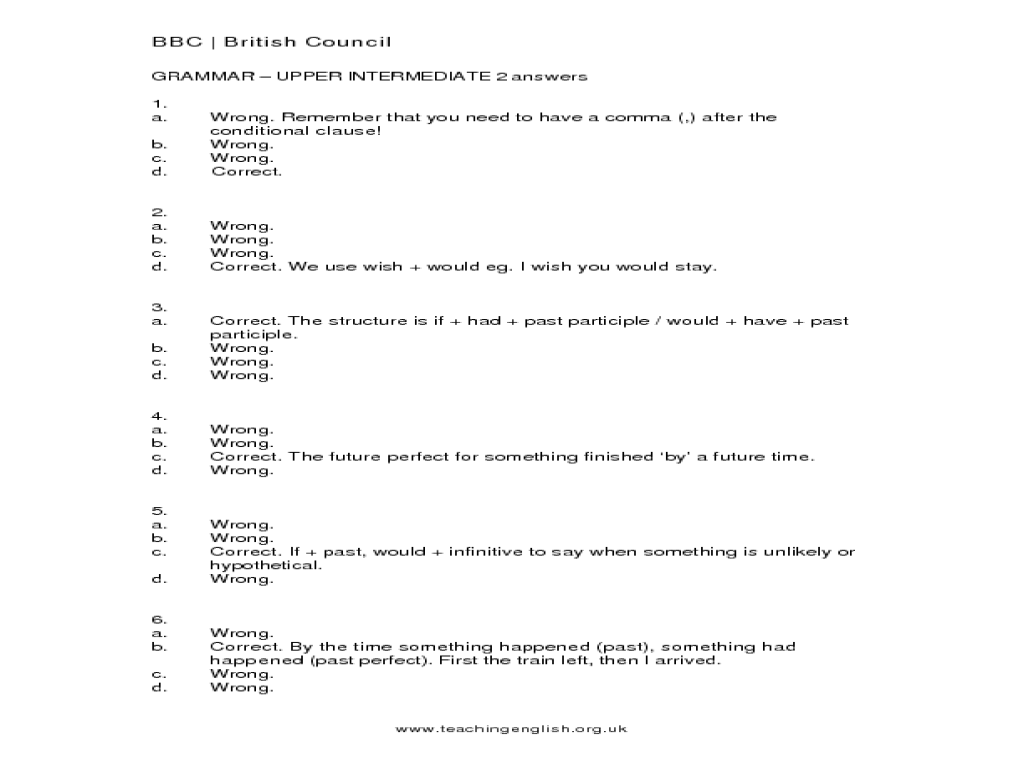 grammar upper intermediate 2 worksheet for 5th 10th grade lesson planet. Black Bedroom Furniture Sets. Home Design Ideas