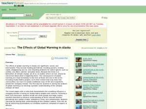 The Effects of Global Warming in Alaska Lesson Plan