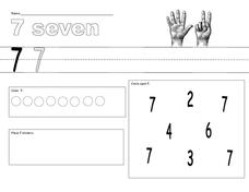 7 Seven Worksheet