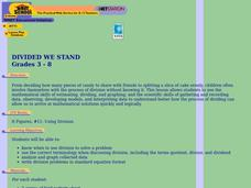 Divided We Stand Lesson Plan