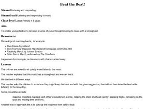 Beat the Beat! Lesson Plan