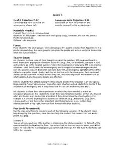 Emergency Services Lesson Plans & Worksheets | Lesson Planet
