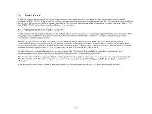 5e model elementary science lesson plans worksheets
