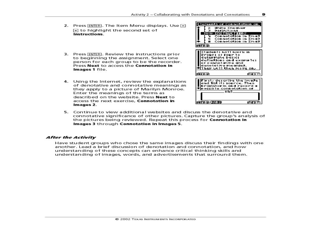 Worksheet Connotation Denotation Worksheet Worksheet Fun Worksheet