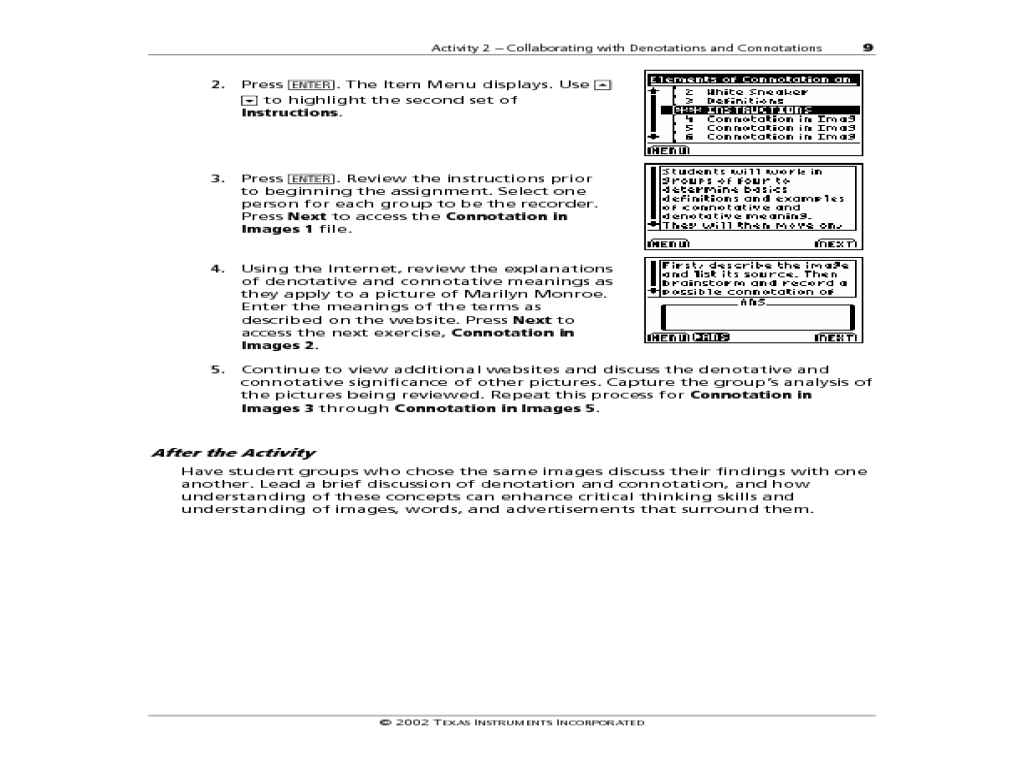 Worksheets Denotation And Connotation Worksheet Christopherjoel