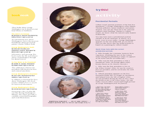 Gilbert Stuart and Presdidential Portraits Lesson Plan
