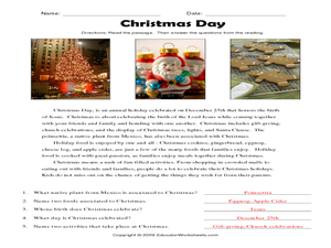 christmas gifts for parents lesson plans worksheets. Black Bedroom Furniture Sets. Home Design Ideas