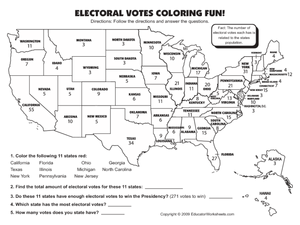 The Electoral College Worksheet Answers Worksheets for all ...