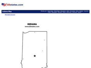 Indiana Map Graphic Organizer