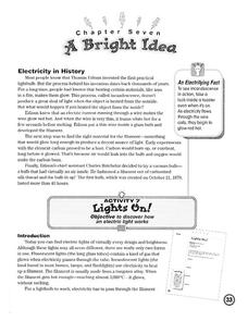 A Bright Idea Lesson Plan