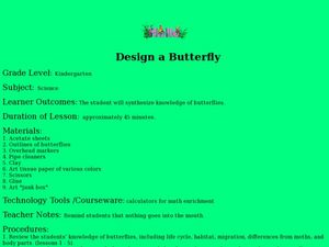 Design a Butterfly Lesson Plan