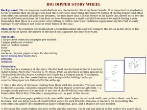 Big Dipper Story Wheel  Lesson Plan