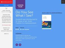 Do You See What I See? Lesson Plan