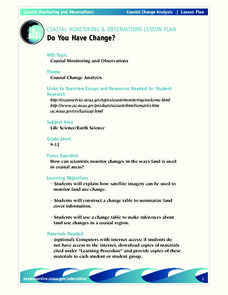 Do You Have Change? Lesson Plan