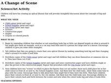 A Change of Scene Lesson Plan
