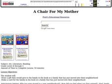 A Chair For My Mother Lesson Plan