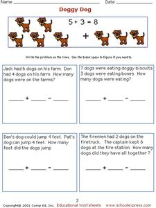 Doggy Dog Worksheet