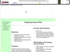 Dogsong Lesson Plan