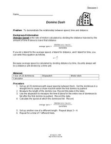domino dash lesson plan for 8th 10th grade lesson planet. Black Bedroom Furniture Sets. Home Design Ideas