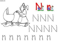 Handwriting:  N Is For Nanny Lesson Plan
