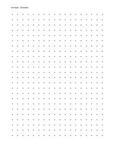 Dot Paper Printables & Template