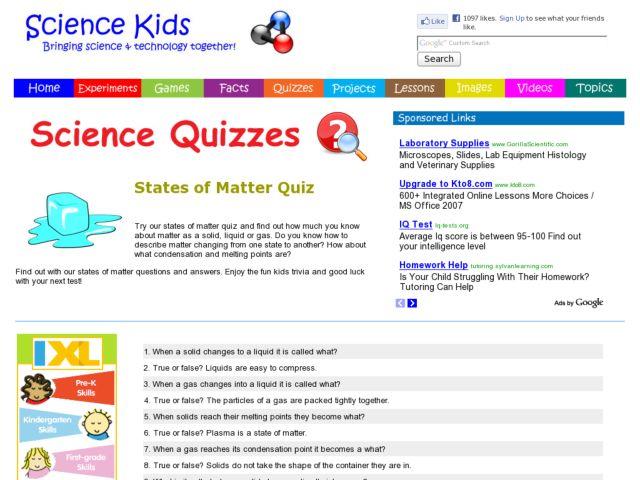 phases of matter worksheet high school Worksheets for Kids – Three States of Matter Worksheet