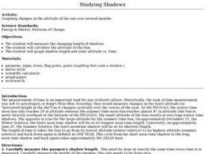 Studying Shadows Lesson Plan