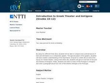 a comparison of the main character antigone and the guard in the play antigone by sophocles The play characters learn with flashcards the guard who brings the news that antigone buried polyneices sophocles writer of antigone ode.