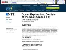 Ocean Exploration: Dentists of the Sea! Lesson Plan