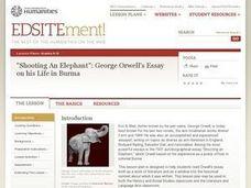 Shooting an elephant george orwell essay