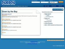 Down By The Bay Lesson Plan