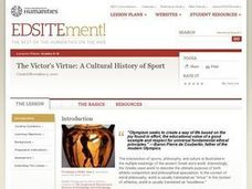The Victor's Virtue: A Cultural History of Sport Lesson Plan